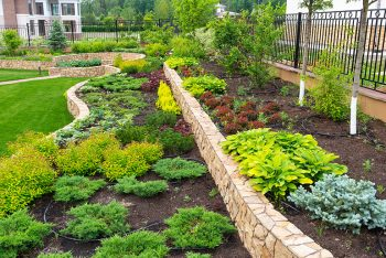 landscaping flower beds lawn care services